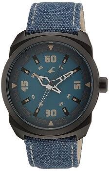 Fastrack OTS Explorer Analog Blue Dial Men's Watch – 9463AL07J