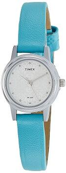 Timex Analog Silver Dial Women's Watch – TW000CS07