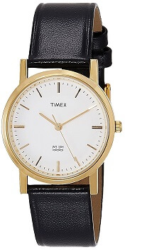 Timex Classics Analog White Dial Men's Watch – A300
