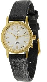 Timex Classics Analog White Dial Women's Watch – B300