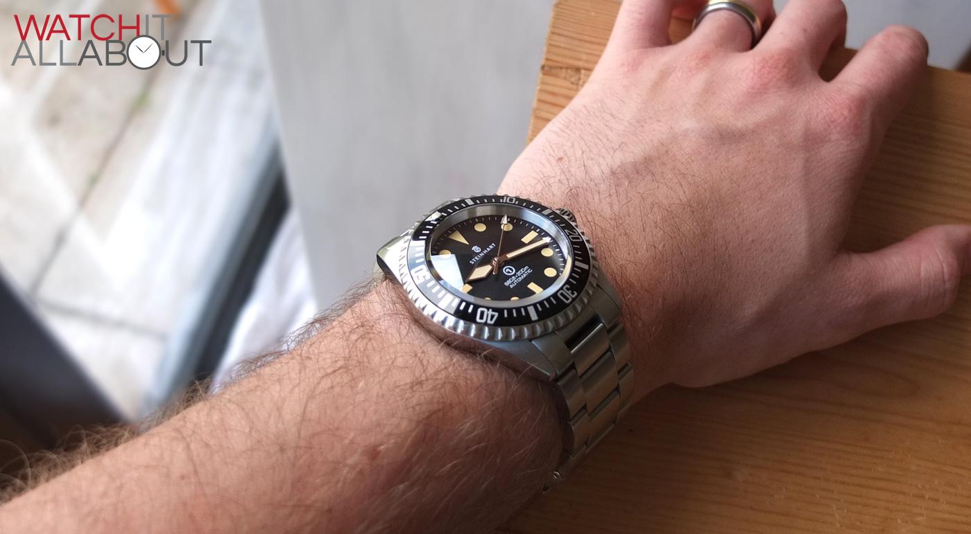Steinhart Ocean Vintage Military Watch Review Watch It