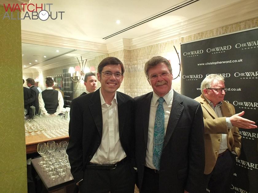 Left, Johannes Jahnke. Right, Kip from CWL Forum