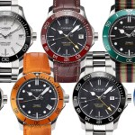 Christopher Ward Launches 4 New Trident Models
