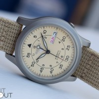 Seiko 5 Military Beige SNK803K2 Watch Review