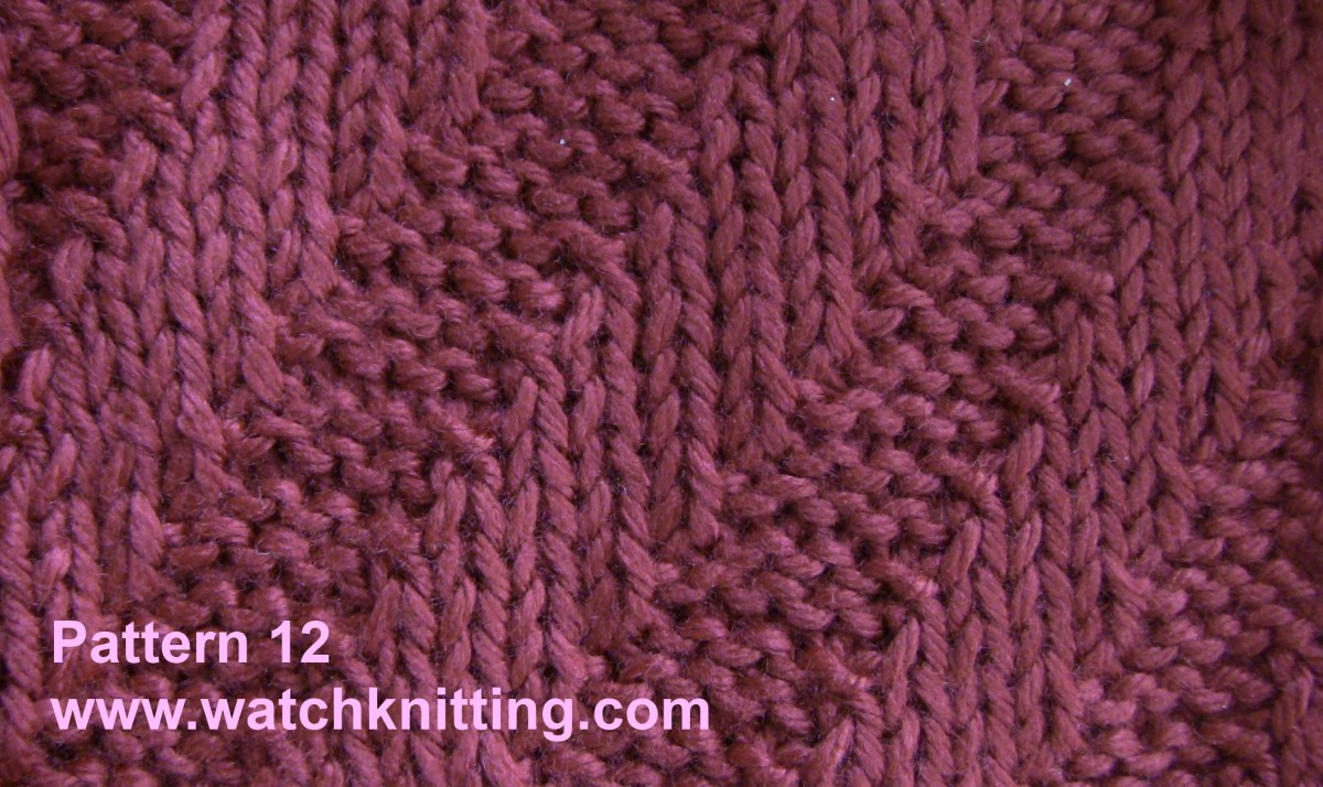 Stitch 12 – Tilt stripe stitch
