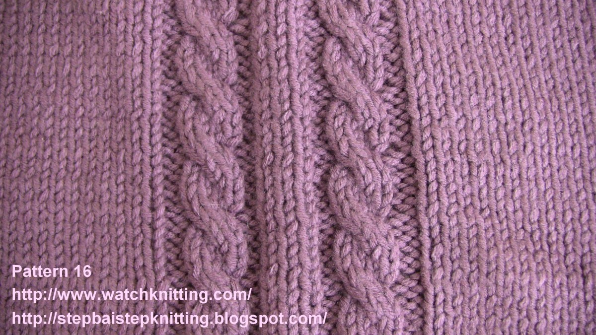 Pattern 16 – Basic Cable Stitch