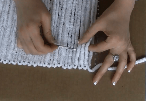 How to make a Mat with handmade Loom!