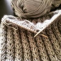 Puff Rib Stitch (Constellate stitch)- stitch no.26
