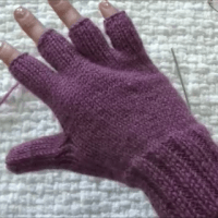 How to make thumb in a glove