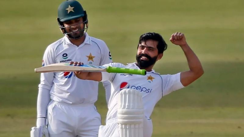 Fawad Century Against South Africa