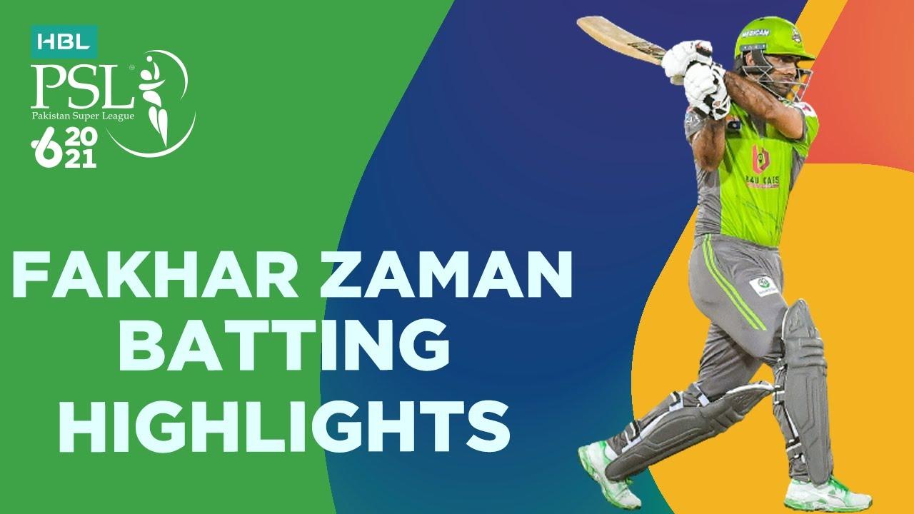 Fakhar Zaman 82 Runs against Quetta Match 4 Batting Highlights