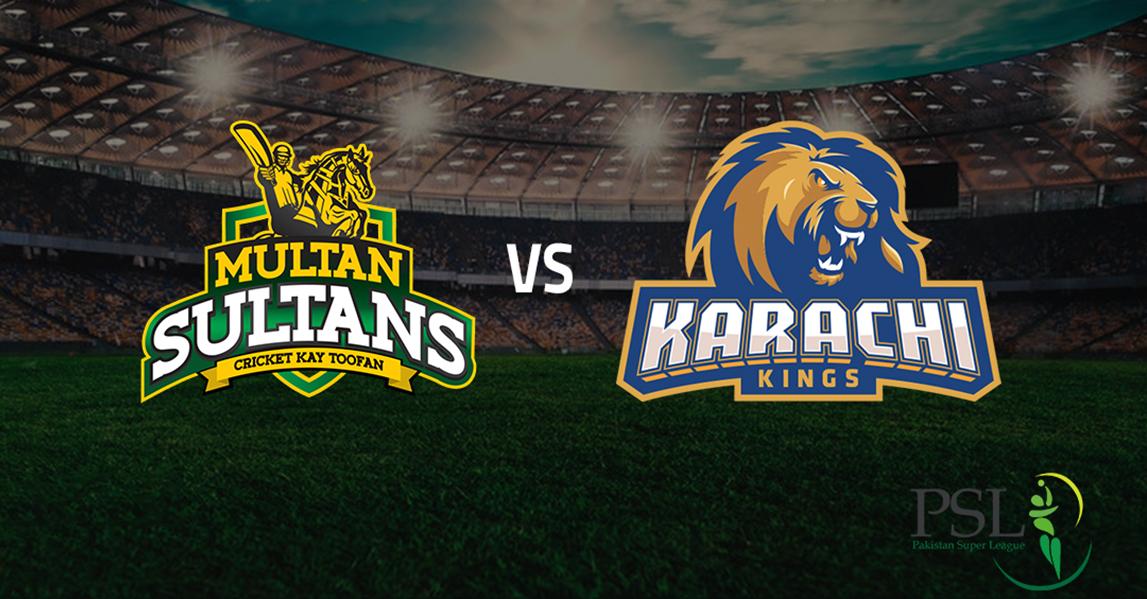 Karachi Kings vs. Multan Sultans Match 9 – Highlights PSL 6 2021