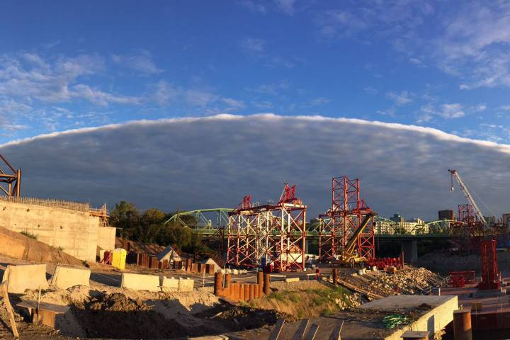 Strange Cloud Formations at the Edmonton Gathering!