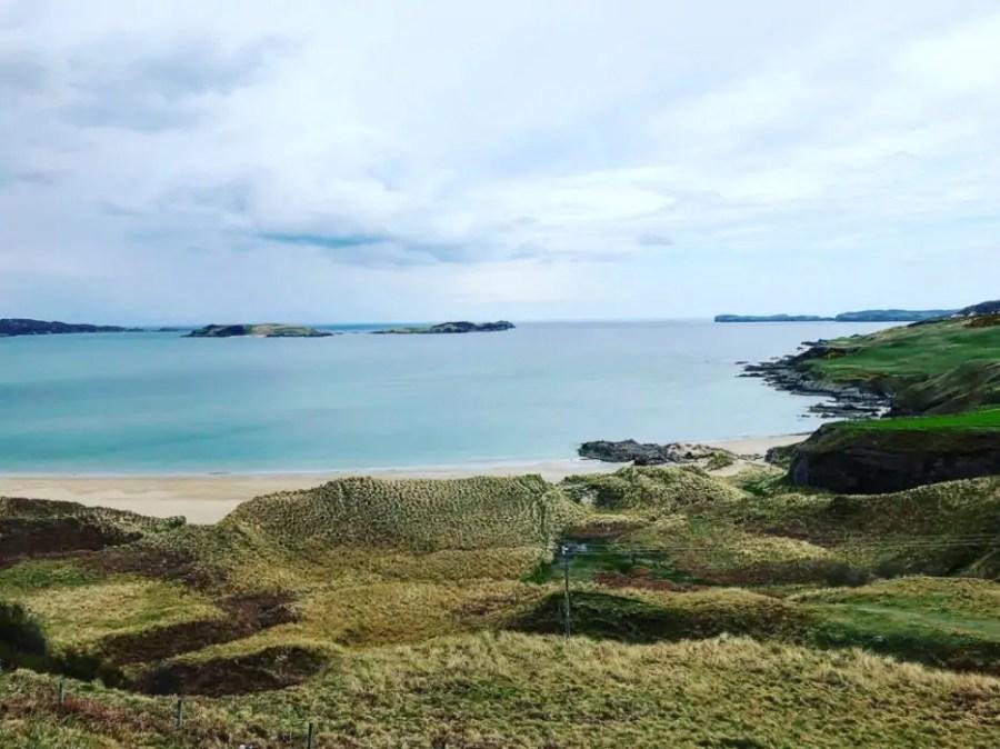 Coldbackie Beach in Scotland