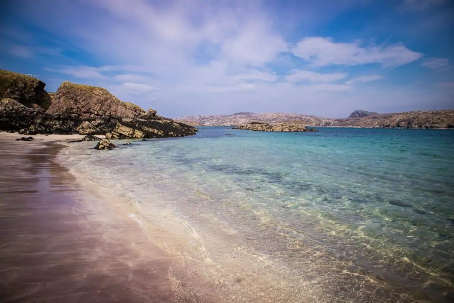 North Coast 500: Beach on Handa Island