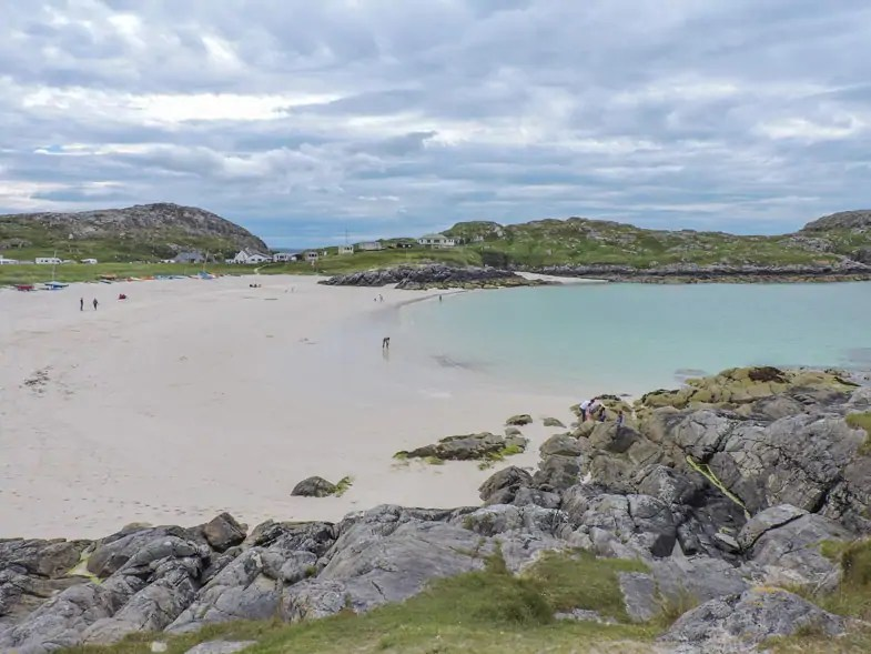 North Coast 500 beach in Scotland