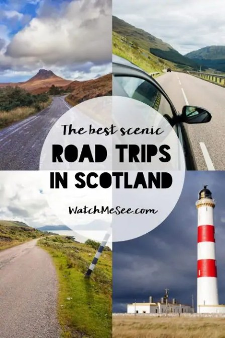The best scenic drives in Scotland (and how to navigate them) | Scotland is a paradise for road trippers - endless roads meander through the beautiful mountains and valleys, along the coast line and across the islands. Whether on two or four wheels, a road trip through Scotland is one to remember. These are some of the best scenic drives in Scotland & tips on how to navigate them!