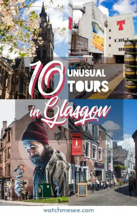Short on time? Try one of these 10 unusual tours in Glasgow!