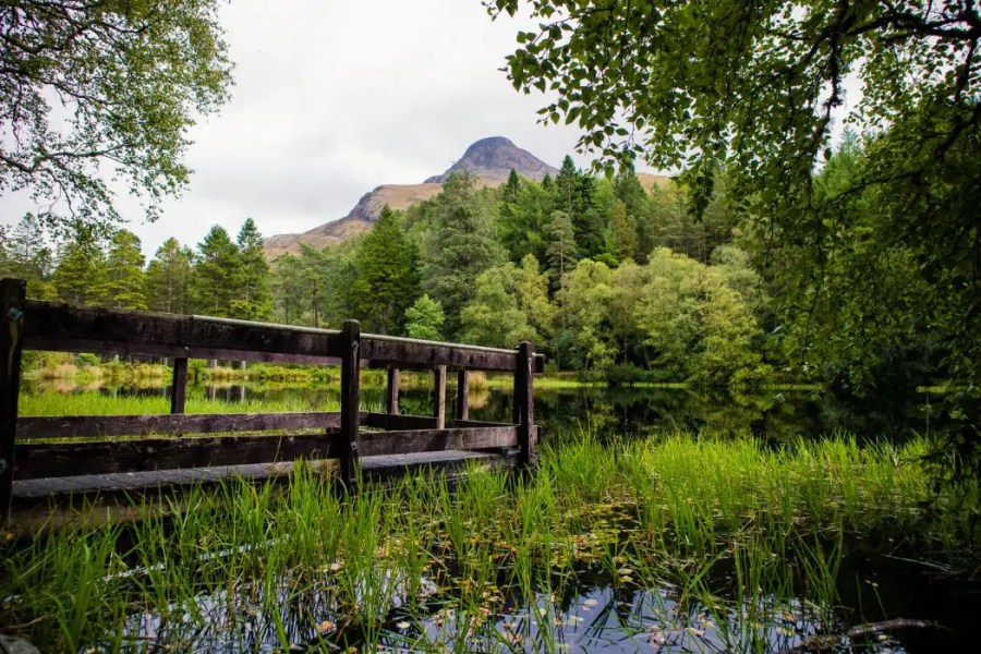 Glencoe Lochan hike in Glencoe.