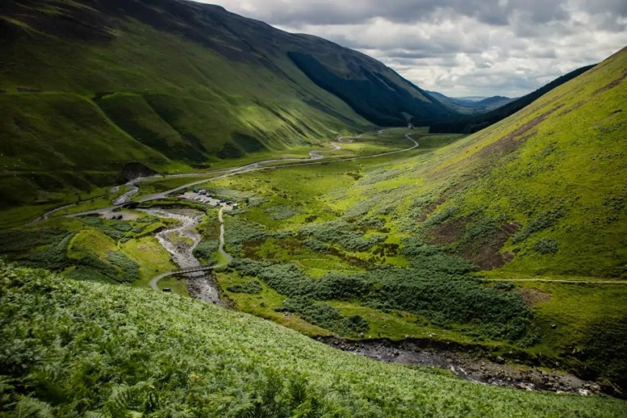 Want to hike in the Scottish mountains without the crowds of the Highlands or Skye? Check out Grey Mare's Tail for a rewarding hike off the beaten track!