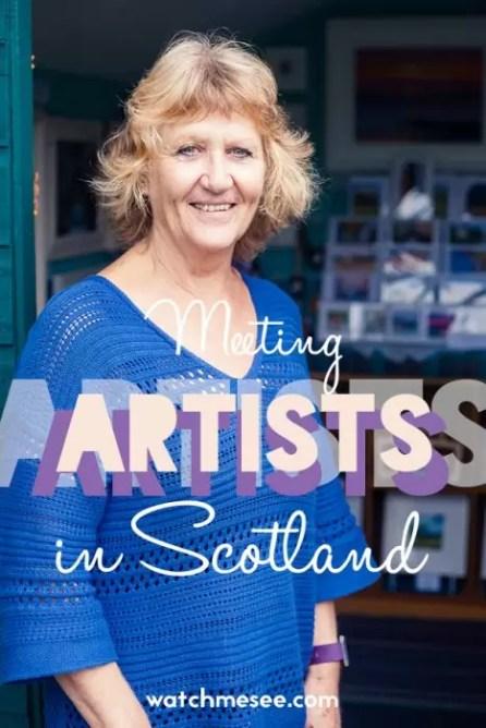 North East Open Studios festival Aberdeenshire artists pin 2