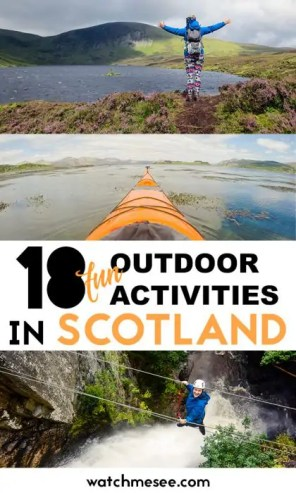Outdoor Activities in Scotland PIN 1
