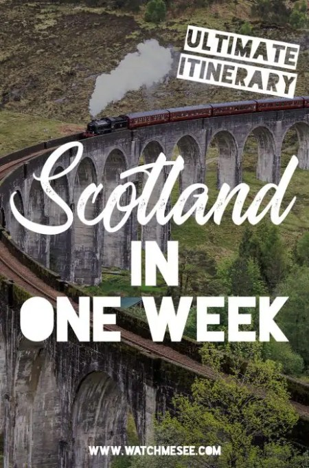 A week in Scotland is barely enough to scratch the surface, but see how many highlights you can fit with the classic itinerary for Scotland in one week.