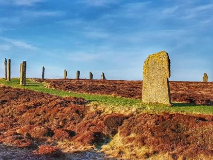 Standing stones at Ring of Brodgar, Orkney