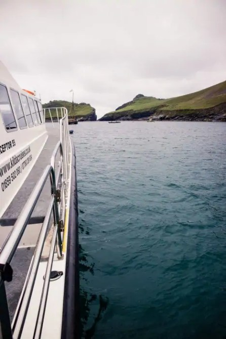 St Kilda from the boat
