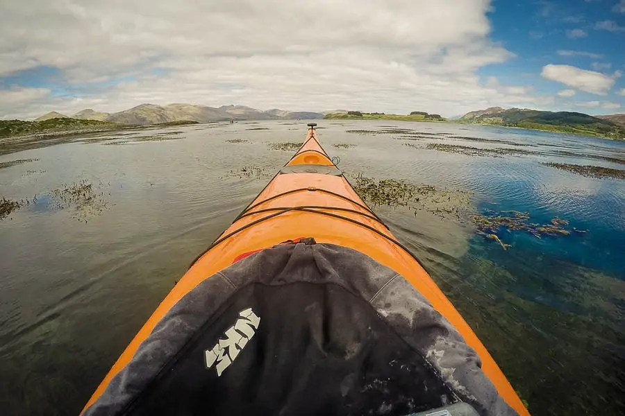 Sea kayaking in Oban