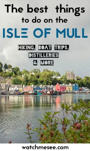 Things to do on Mull PIN 4