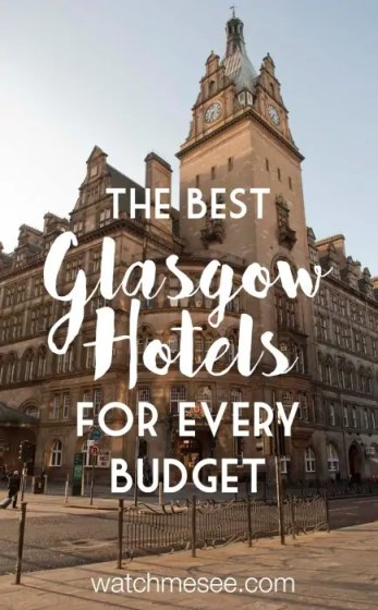 Want to spend a weekend in Scotland's coolest city, but don't know where to stay? Check out my Glasgow Hotels guide with the best choice to suit any budget!