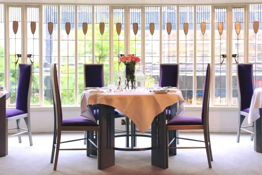 mackintosh at the willow - miss cranston's tea rooms in glasgow