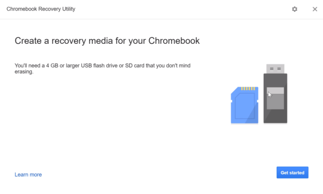Dual Boot CloudReady Chrome OS ChromeBook Recovery Utility