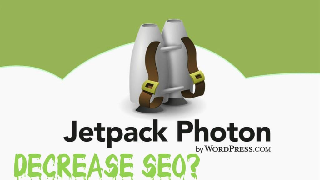 Jetpack Photon Decrease SEO