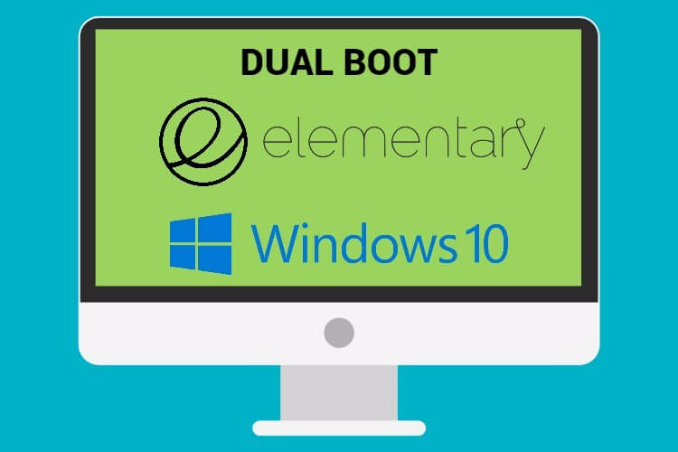 Arranque dual  Elementary OS y Windows 10 PC y Portátil