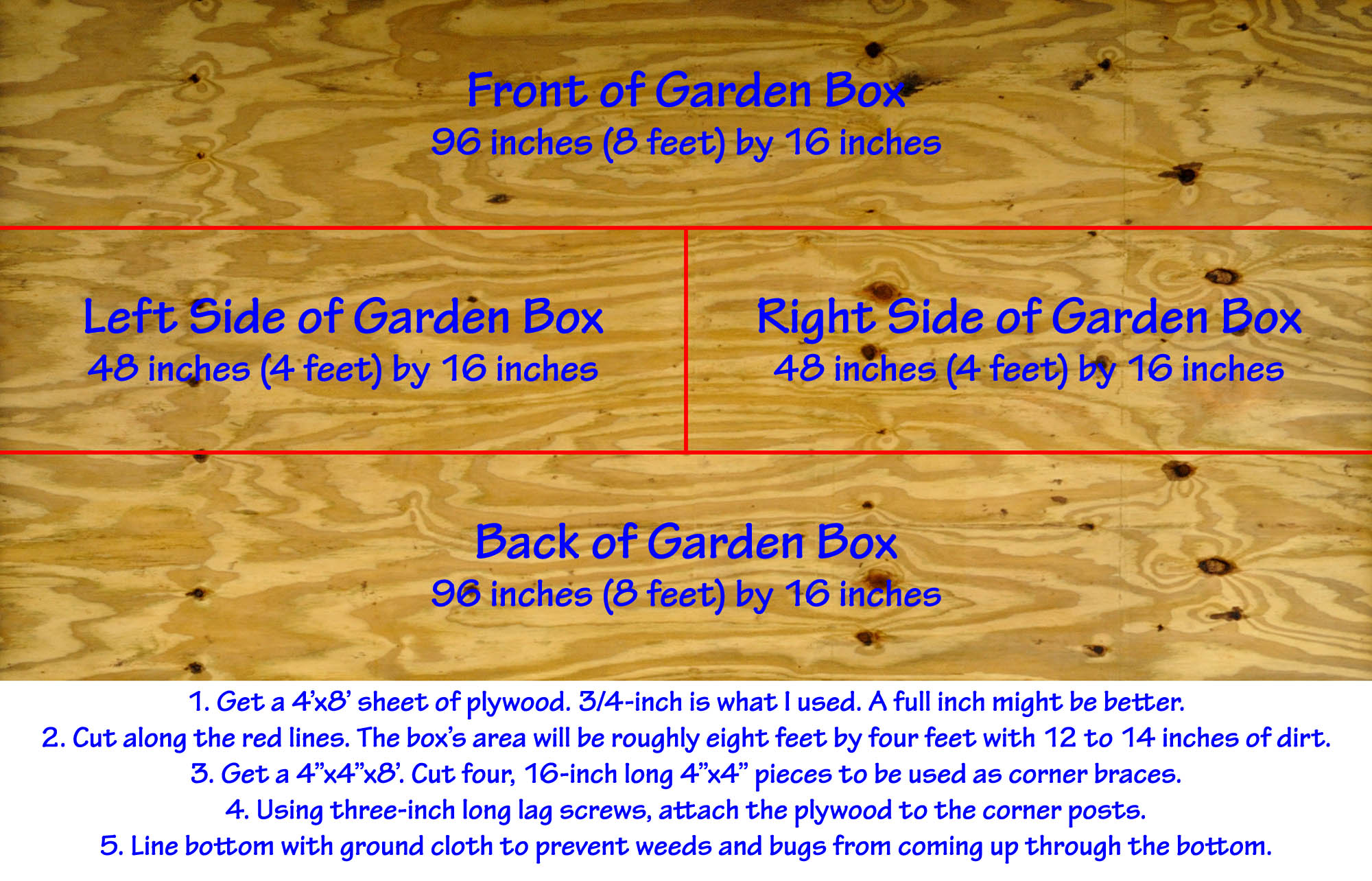 hight resolution of backyard raised vegetable garden construction how to instruction diagram