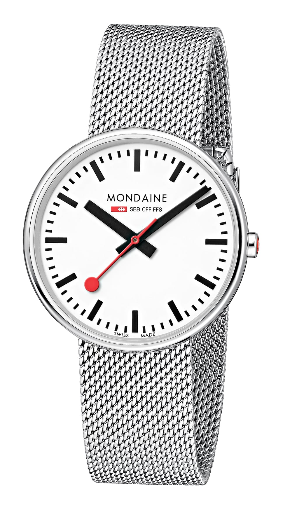 Mondaine Mini Giant Stainless Steel Case Stainless Steel