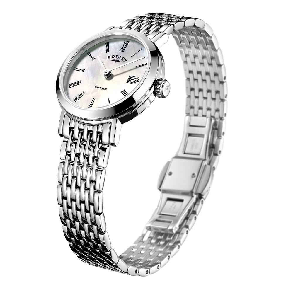 Rotary Windsor Stainless Steel Mother of Pearl Ladies