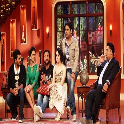 Comedy Nights With Kapil 14 June 2014 With Saif & Riteish