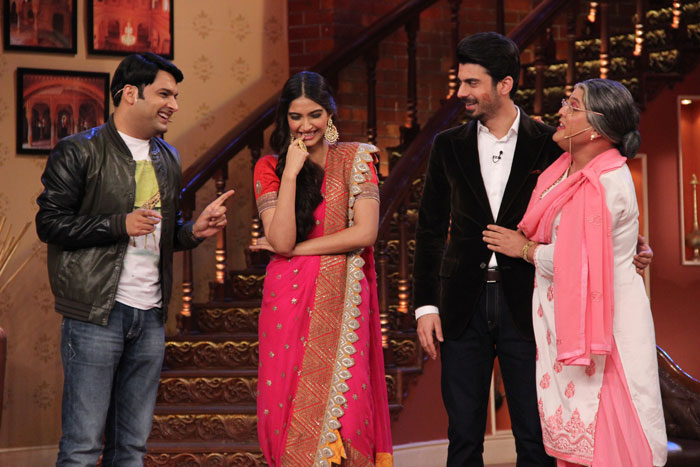 Comedy Nights With Kapil 26th July 2014 With Sonam & Fawad