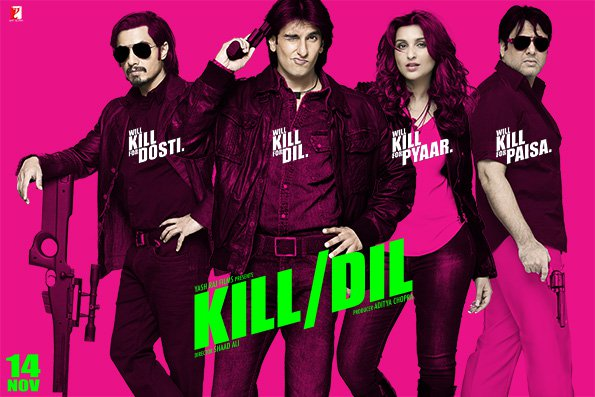 Kill Dil (2014) Full movie Watch Online HD Print Free Download