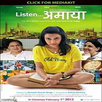 Listen Amaya (2013) Watch Full Movie Online DVD Print Download