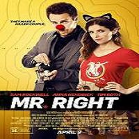 Mr. Right (2016) Full Movie Watch Online HD Print Free Download