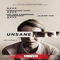 Unsane (2018) Hindi Dubbed Full Movie Watch Online HD Print Free Download