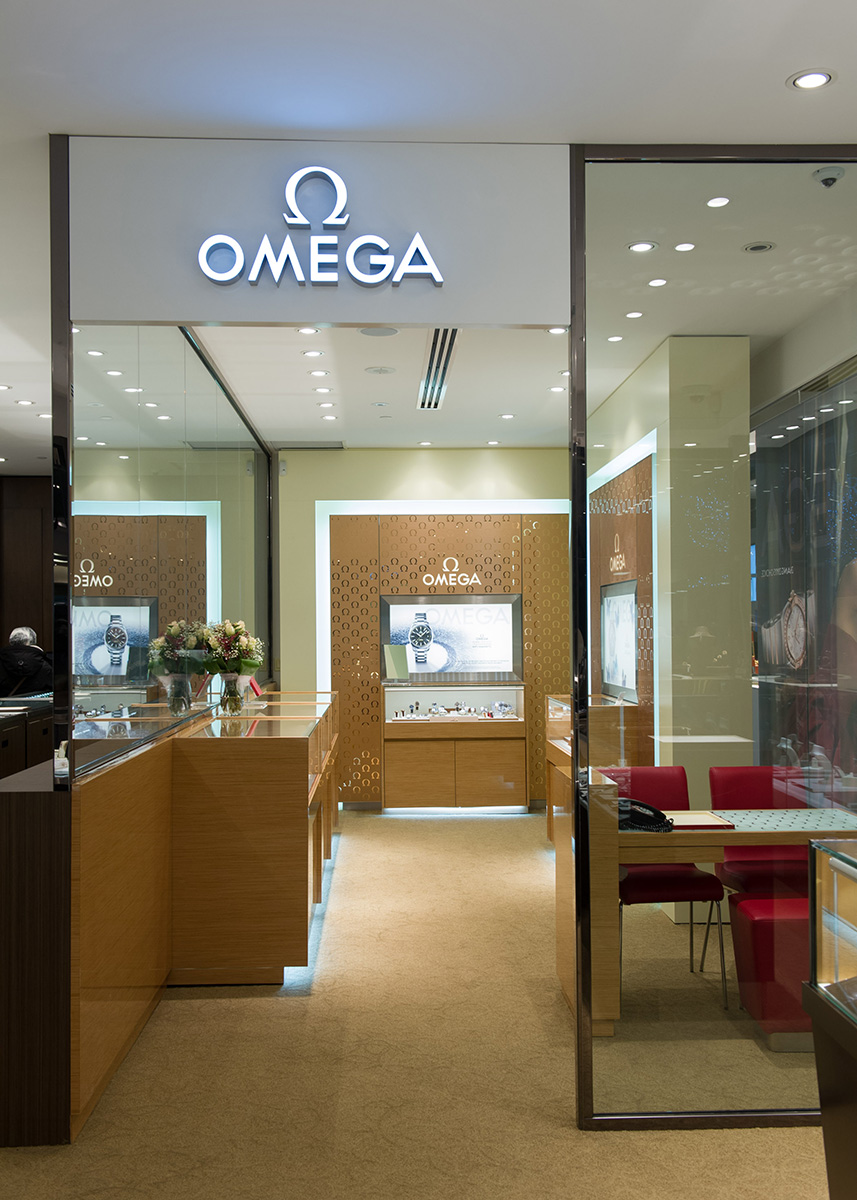 Omega Opens Boutique In Torontos Yorkdale Shopping Centre