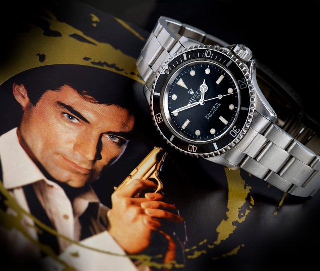 Rolex With James Bond Provenance Expected To Fetch Over 100000 At Auction