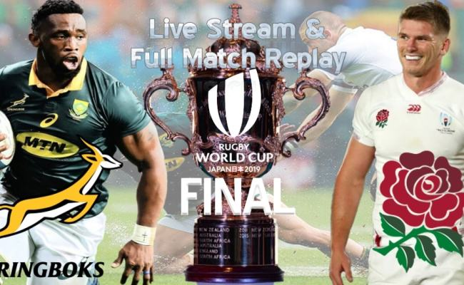 How To Watch South Africa Vs England Live Stream Final Rwc