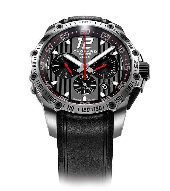 www.watchtime.com | blog  | Watch Insiders Top 10 Chronographs of 2013 | Chopard Superfast Chrono front 560