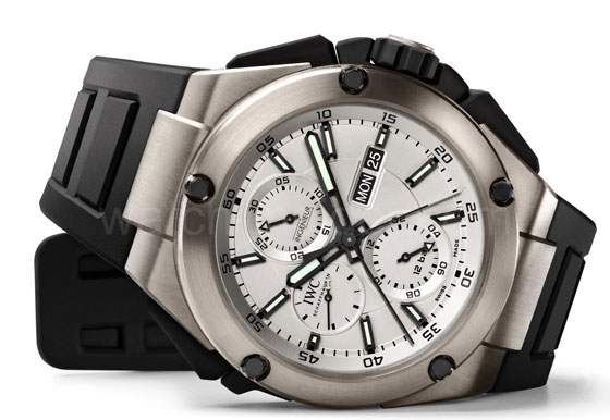 www.watchtime.com   blog    Watch Insiders Top 10 Chronographs of 2013   IWC Ingenieur Double Chronograph Titanium